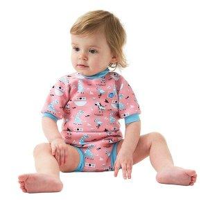 (스플래쉬어바웃(Splashabout)) 수영장기저귀 일체형 아기수영복 해피내피 웨트슈트 니나스아크