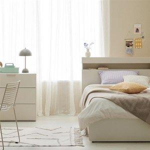 클로즈 침대 SS코튼그레이(하부서랍)+노뜨컴포트