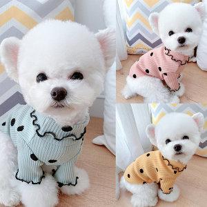 베이비도그 골지쫀쫀티 강아지옷/애견옷