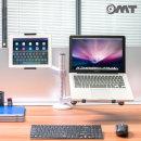 태블릿 노트북 2단관절 듀얼 암 책상 거치대 ONA-9X