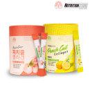 피치콜콜라겐 저분자콜라겐 스틱형 복숭아+레몬SET