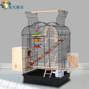 앵무새 키우기 대형 천장 오픈 날림장 새장 - 패키지2