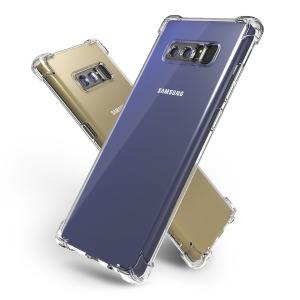 갤럭시 노트8 핸드폰 투명 젤리 범퍼 케이스 1+1