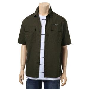 남성용 박스핏 셔켓형 반팔 셔츠 T173SH100P