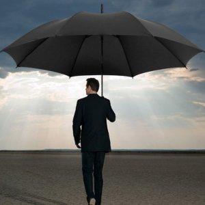 이중원단 대형우산 골프 의전용 장우산 120cm 대형