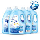 섬유유연제 비앙카(블루) 3100ml 4개