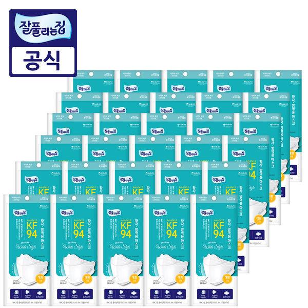 잘풀리는집 KF94 마스크 30매 / 4중필터