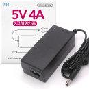5V4A 어댑터 (2구/해외인증) 미국 일본 유럽 FCC 인증