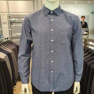 지오지아  모다아울렛 체크셔츠/캐주얼셔츠/남자남방/남자겨울셔츠/ABZ4WC1105