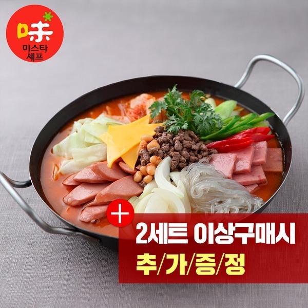 미스타셰프 부대찌개 600g 4팩/간편식품/사은품