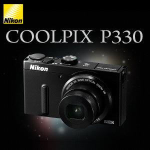 니콘 정품 P330 초광각렌즈 디카 (메모리 미포함) k