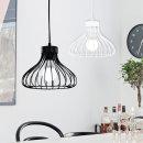 에덴 1등 식탁등 화이트/블랙 포트니 펜던트 카페조명