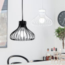 에덴 2등 식탁등 화이트/블랙 포트니 펜던트 카페조명