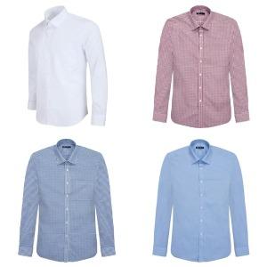 남성 기본셔츠 긴팔와이셔츠 남성정장셔츠 긴팔셔츠