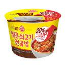 컵밥 컵반 덮밥 21종 골라담기/얼큰쇠고기전골밥 320g