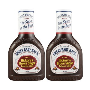 Sweet Baby Hickory Brown Sugar Barbecue Sauce 2팩