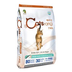 NEW캐츠랑 전연령 고양이사료 7kg