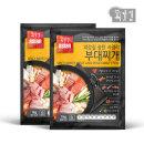 외갓집 송탄 서정리 부대찌개 1kg+1kg