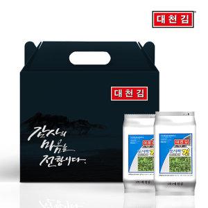 대천김 선물세트 도시락김 16봉 / 5+1 증정 행사
