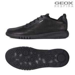 (신세계센텀점) GEOX 제옥스 남성 New 20 F/W 컴포트 스니커즈 에어란티스 M1X27FA0F11 트리플 블랙