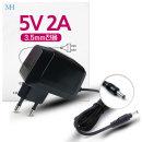 5V2A 어댑터 (잭3.5mm용/월마운트타입) DC전원 5V 2A