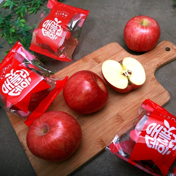애플리데이 세척사과 2.5kg 8~15과 꼬마사과