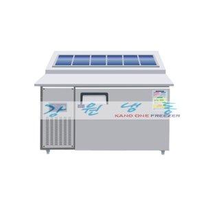 레인보우 6구 김밥냉장고 1200-750 SDBK-1210R