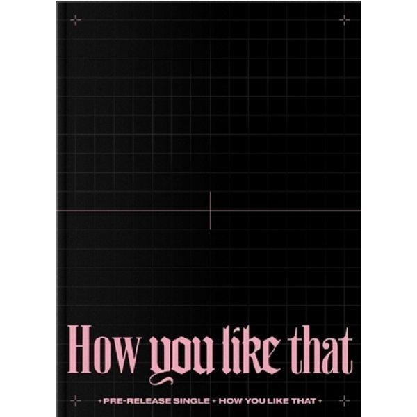 (포스터무료증정)블랙핑크 (BLACKPINK) BLACKPINK SPECIAL EDITION(How You Like That)