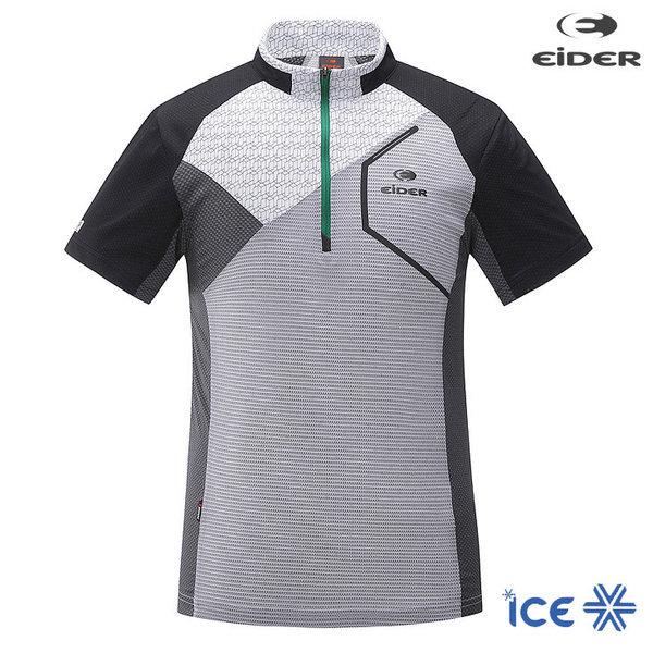 아이더 남자 MODIENO (모디에노) 짚업 티셔츠 DMM18
