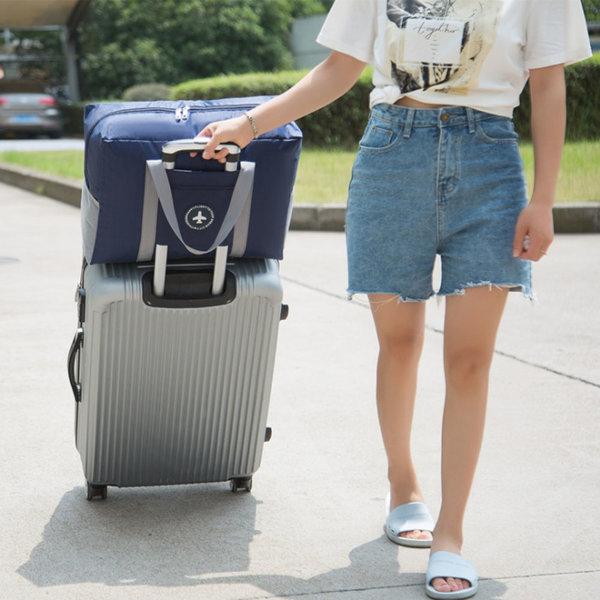여행용 캐리어결합 방수가능한 대용량 고급 폴딩백