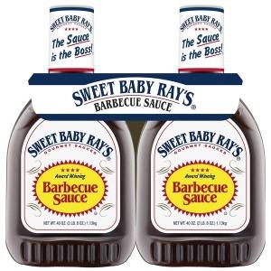 Sweet Baby Rays 레이 바베큐소스 1.13kg x2팩
