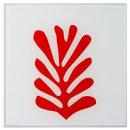 더 프레임 액자 체중계 붉은해초
