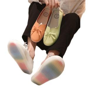 여성 리본 슬립온 단화 스니커즈 운동화 신발 CZ-003