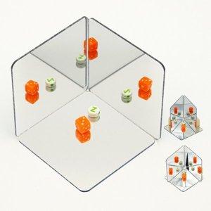 거울로 재미있는 장난감 만들기 (사각형) (1인용)