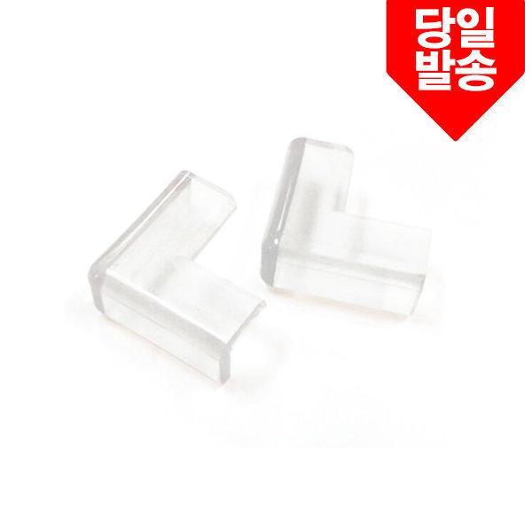 투명모서리쿠션2P(51X51/두께6mm) 안전장치 LP-3-3