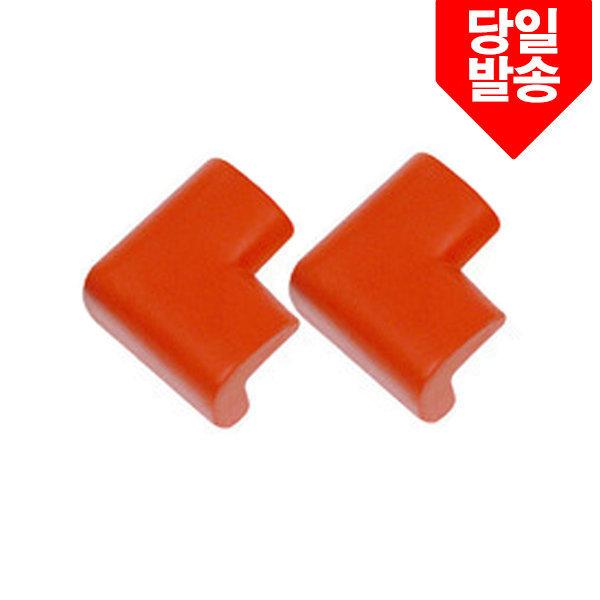 모서리보호가드중형2P-레드(67X42/두께16mm) LP-5
