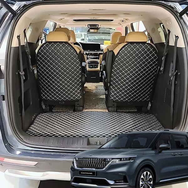 2021 4세대 신형카니발 4D 퀼팅 트렁크매트 풀셋트