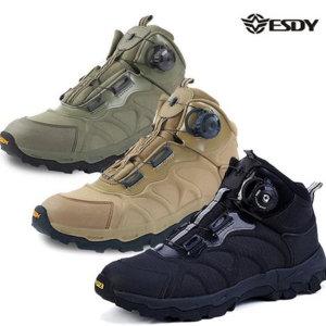 ESDY 밀리터리 전술화 트레킹화 등산화 전투화 다이얼