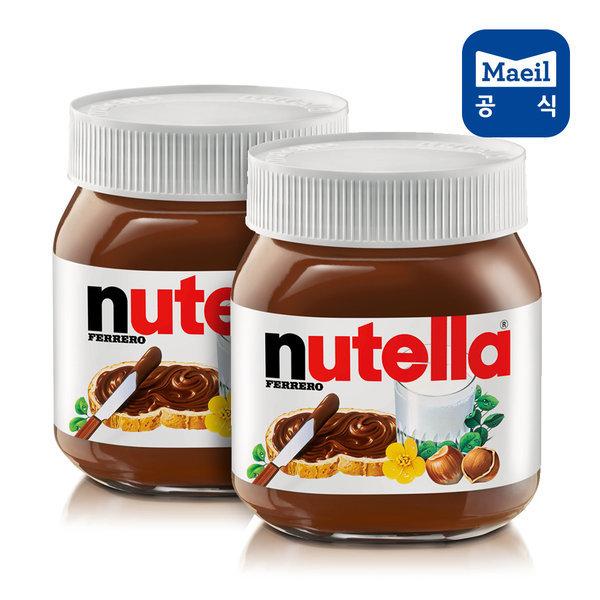 누텔라 초코잼 370g 2개/스프레드/초콜릿/초콜렛