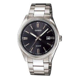 클래식 메탈 남자 시계 MTP-1302D-1A1