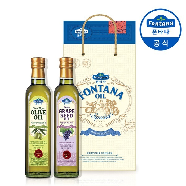 폰타나 스페셜 오일세트 1호 식용유/올리브유/선물세트