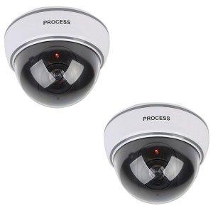 모형CCTV 감시카메라 IN11C 리얼 돔형 1+1