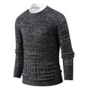남자 포근한 프리믹스 스웨터 라운드넥 니트 tn0922