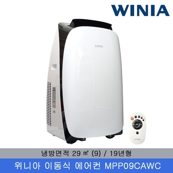위니아 이동식 에어컨 MPP09CAWC