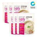 라이틀리 곤약즉석밥 현미퀴노아 150gx3+귀리 150gx3