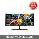 LG전자 울트라기어 34GL750 (1월18일이후 예약판매)