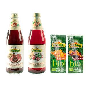 파너 과일 크랜베리 석류 유기농 음료 4종