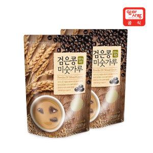 국산 검은콩 미숫가루 700g X 2팩   /식사대용/선식
