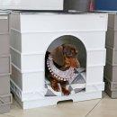 큐브펫 강아지집 강아지하우스 (방석포함)