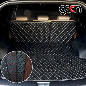 가온 3D퀄팅 차량용품 가죽 트렁크매트 카매트 일체형